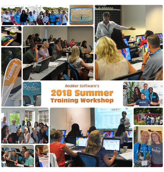 Summer Training Workshop Image Collage