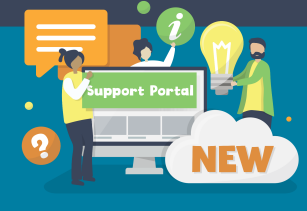 Support Portal Graphic