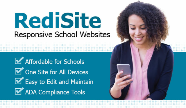 RediSite School Websites by Rediker Software - Click Here to Learn More