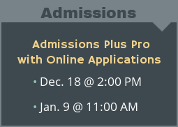 Admissions Plus Pro with Online Applications Product Demo