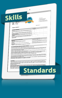 Skills and Standards iPad Image