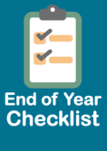 End of Year Checklist Icon