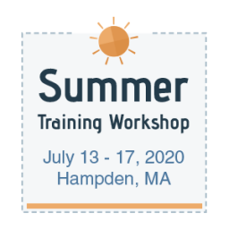 Summer Training Workshop: July 13-17, 2020